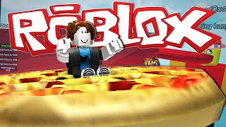 Roblox | DRIVING A GIANT PIZZA?!