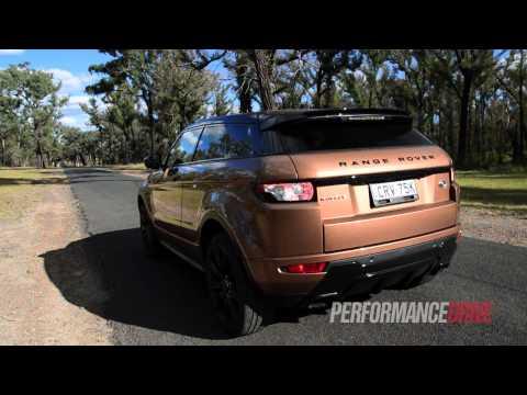2014 Range Rover Evoque Si4 (9-speed) 0-100km/h & engine sound