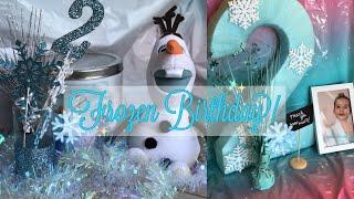 DIY FROZEN BIRTHDAY PARTY! | SAVE MONEY