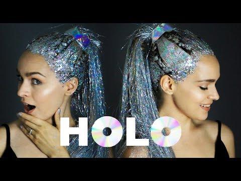 Holo Hair Transformation: A Holographic Hair Tutorial - KayleyMelissa