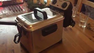 Ersteindruck: Tefal Fritteuse Filtra Pro Inox & Desig - Unboxing