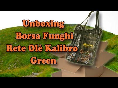 Unboxing - Borsa Funghi Rete Olè Kalibro Green