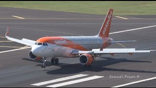 A320 EASYJET 20th ANNIVERSARY special livery in Madeira