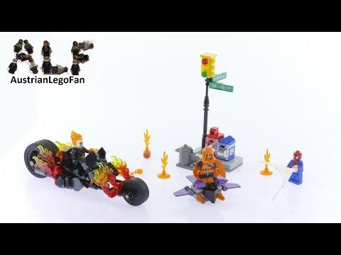 Vidéo LEGO Marvel Super Heroes 76058 : Spider-Man :  l'équipe de Ghost Rider