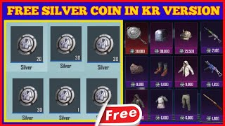 How To Get Free Silver Fragments In PUBG Mobile Korean Version   Get Silver Coin In KR Version