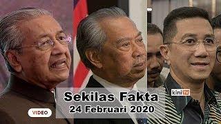SEKILAS FAKTA: Tun M letak jawatan, Bersatu keluar PH, Azmin dipecat