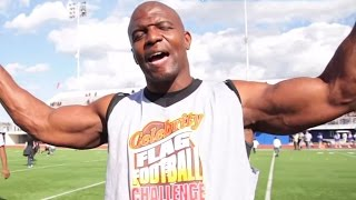 TERRY CREWS - Top 3 Muscle Building Tips - Plus Black & Yellow!