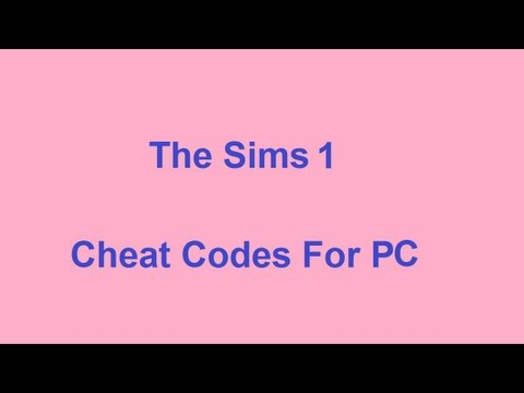 The Sims 1 Cheat Codes - PC