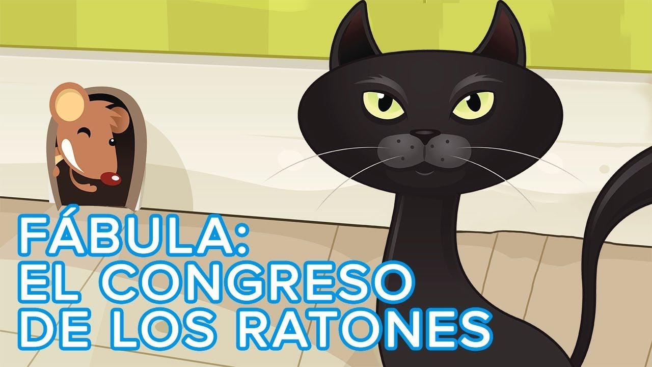 Fábula para niños: El Congreso de los Ratones | Cuento infantil con valores