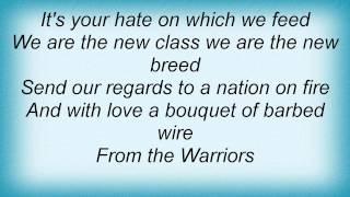 Distillers - Warriors Lyrics