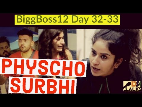 Bigg Boss 12 | 19th October | Surbhi Rana PHYSCHO hai ! Mental Hospital bhejo Isko.