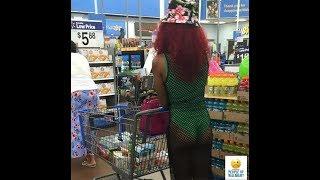 Сумасшедшие наряды посетителей американских супермаркетов