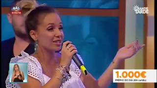 """Luciana Abreu e Daniel Santacruz, """"Tu e Eu"""" no Grande Tarde - 14.07.2016"""