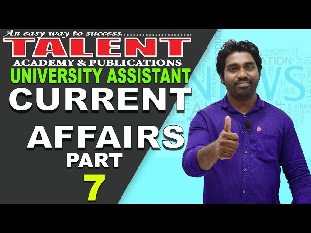 Current Affairs in Malayalam for Kerala PSC Exams 2018 | TALENT ACADEMY| Kerala PSC