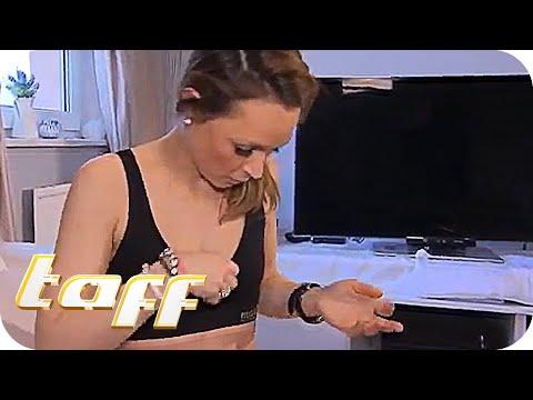 Ist limfousel unter dem Arm vergrössert und tut die Brust weh