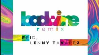 Feid Ft Lenny Tavárez   Badwine Remix (Audio Oficial)