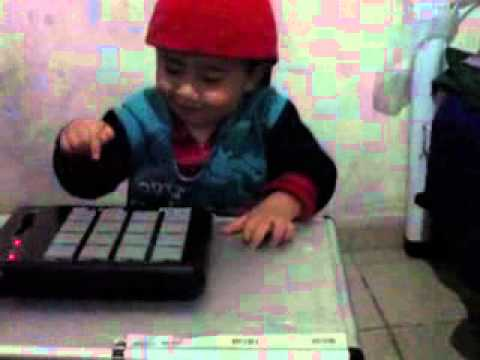 Video of MPC to create FUNK FUNK
