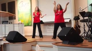 """Shake The Foundation"" by Joe Pace Gospel Praise Dance by Praize Kraze"