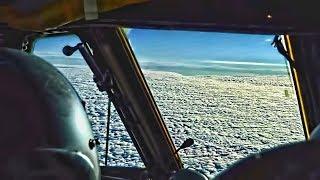 B-52 Bomber Cockpit Video • Takeoff/Landing (2019)