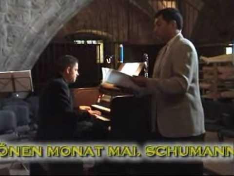 tenor con violín y piano