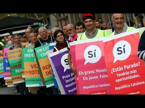 Kαταλονία: Κατάσχεση έντυπου προωθητικού υλικού για το δημοψήφισμα