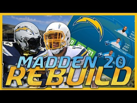 Moving on from Philip Rivers! | Madden 20 Los Angeles Chargers Rebuild