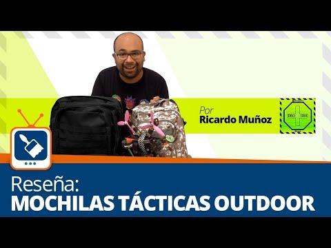Reseña: Mochilas tacticas Outdoor por Ricardo Munoz de Dronepedia