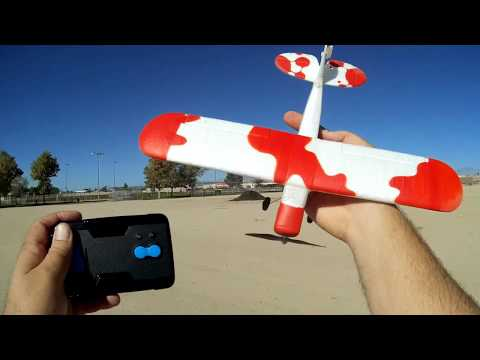 Techboy Mini Fox World's Cheapest RC Airplane Flight Test Review