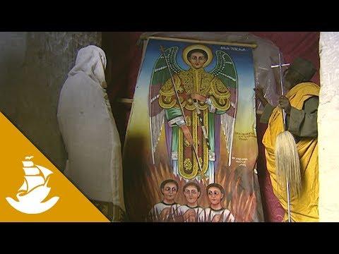 A holy man dedicates his life to build a church