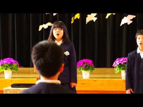 『花は咲く』 左鐙小学校卒業式・7人でのラストソング