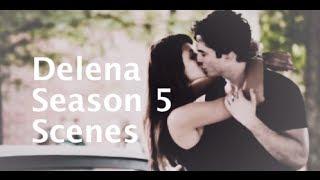 Best Delena Season 5 Scenes