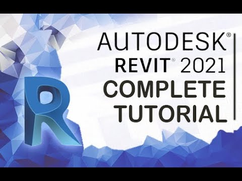 Revit 2021 - Tutorial for Beginners [+General Overview]