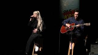 Feeling Of Falling (Acoustic)   Kim Petras Live 12818