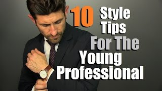 10 Style Tips For The Professional Man