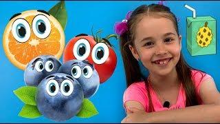 СОК ПРОТИВ обычной еды НОВЫЙ ЧЕЛЛЕНДЖ / Смешное видео для детей от Арины