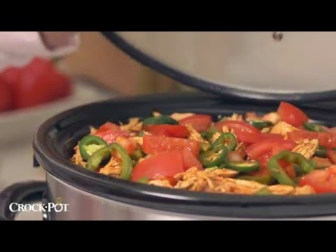 , Crock-Pot 6-Quart Programmable Cook & Carry Slow Cooke SCCPVL610-S