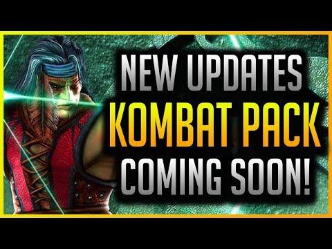 Mortal Kombat 11: DLC, Updates, Nightwolf Release & More Coming!