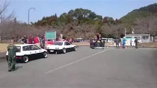 2017319熊本県山鹿市おバカたちのカスタムカーショーTENGA鉄道999水辺乃森警備隊入場旧車會暴走族水辺の森警備隊