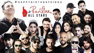 RedOne & ALLSTARS - #HappyBirthdaySidna (Exclusive Music Video) - #2108 عيد ميلاد سعيد سيدنا
