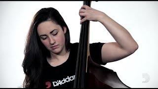 Kaplan 3/4 Bass String Set: Medium