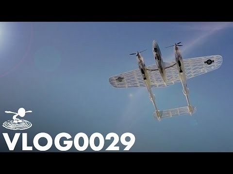 flitetest] 3D PRINTED RC WARBIRDS | VLOG0029 - ON APPROACH