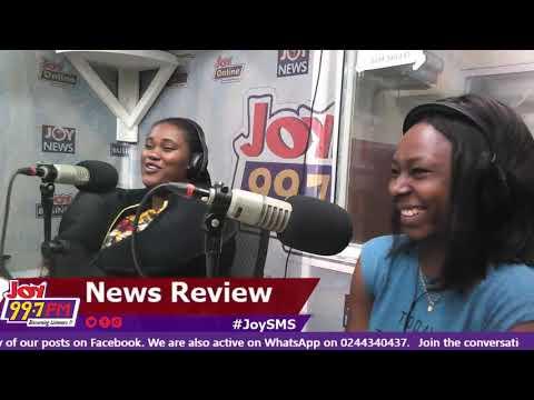 JoySMS Newspaper Review on Joy FM (21-9-18)