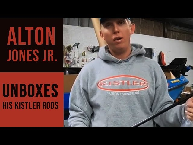 Alton Jones Jr. Unboxes His Kistler Rods