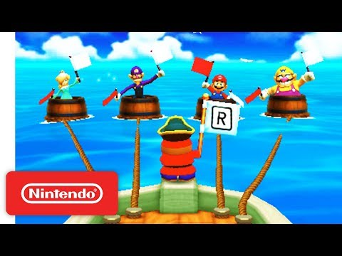 Mario Party: The Top 100 - Announcement Trailer - Nintendo 3DS thumbnail