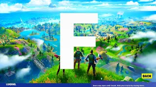 How to find letter 'F' in The New World Loading Screen - Fortnite