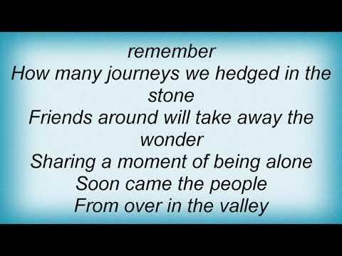 America - People In The Valley Lyrics