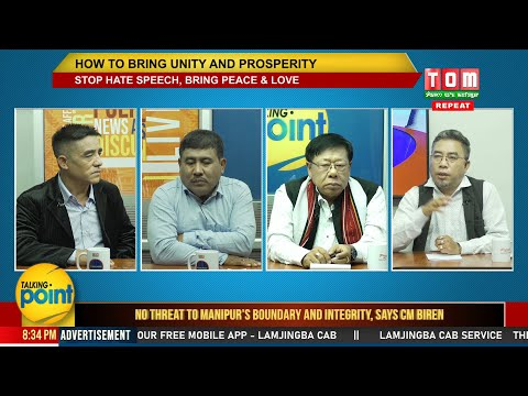 TOM TV TALKING POINT HOW TO BRING UNITY AND PROSPERITY EP- 35,  12TH NOV 2019
