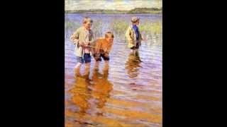 Картины с пейзажем на рыбалке