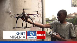 Meet The Young Man Who Built Nigeria's First Locally made Drone