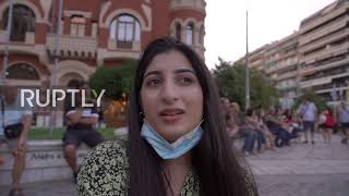 Greece: Protesters Burn Turkish Flags As They Decry Hagia Sophias Reconversion To Mosque